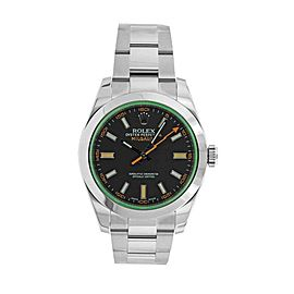 Rolex Milgauss M116400GV-0001 40mm Mens Watch
