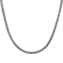 John Hardy Classic Wheat Sterling Silver Necklace