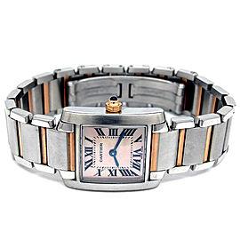 Cartier Tank Francaise W51027Q4 Womens 20mm Watch