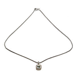 David Yurman Albion Sterling Silver Iolite, Diamond Necklace