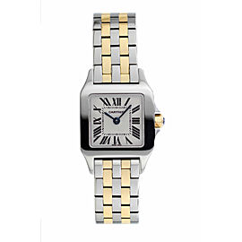Cartier Santos Demoiselle W25066Z6 20mm Womens Watch