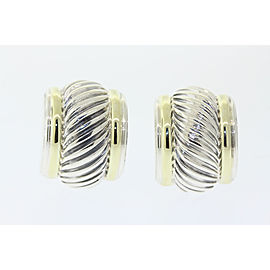 David Yurman 352475600108-E 14K Yellow Gold, Sterling Silver Earrings