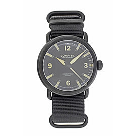 Lum-Tec Combat Field 44mm Mens Watch