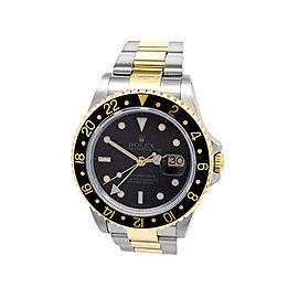 Rolex GMT-Master II 16713 Mens 40mm Watch