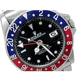 Rolex GMT-Master II 1675 Vintage Mens 40mm Watch