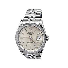 Rolex Oyster Date 15210 Unisex 34mm Watch