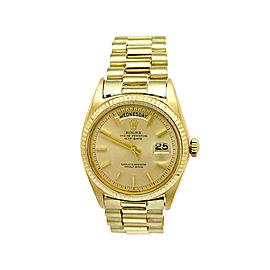 Rolex President Daydate 1803 Vintage Mens 36mm Watch