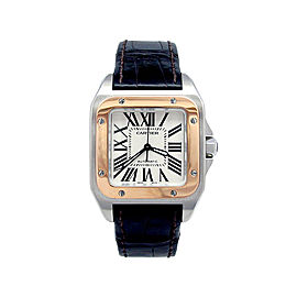 Cartier Santos 100 W20107X7 Unisex 33mm Watch