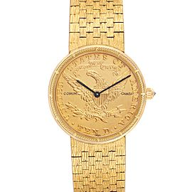 Corum Coin 10 Dollars Double Eagle Yellow Gold Ladies Watch 1901