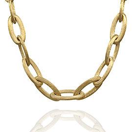 Nanis Olga Oval Link Necklace in Gold | FJ-B