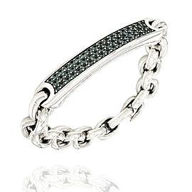 Yurman Streamline Sapphire Bracelet in Silver