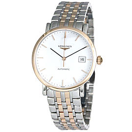 Longines Elegant Two Tone White Dial L48105127