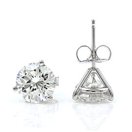 Diamond Earring Studs in Gold