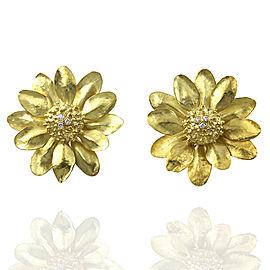 Daisy Earrings in Gold