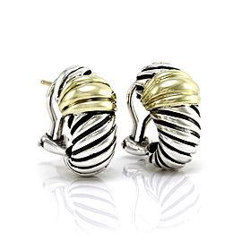Yurman Shrimp Earrings in Silver and Gold