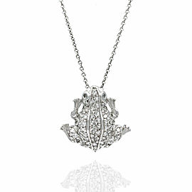 Roberto Coin Diamond Frog Necklace