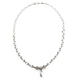 18K Diamond Lacy Necklace