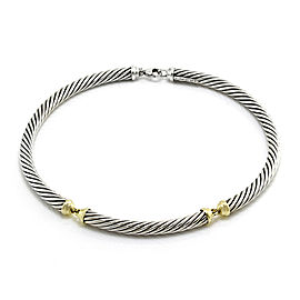 Yurman Cable Classics Necklace in Silver