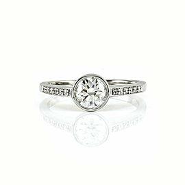 Diamond Engagement Ring Mounting in Platinum