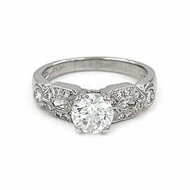 1.07ct GIA Certified Diamond Engagement Ring in Platinum