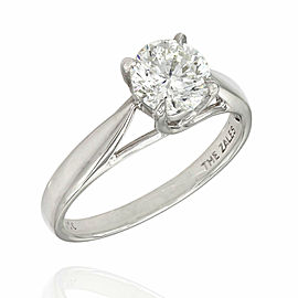 1.10ct Diamond Solitaire Ring in Platinum