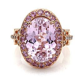 Sonia B Kunzite Ring in Gold