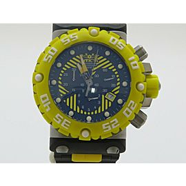 "Invicta Men's Watch ""Black & Yellow"" Set of 2 