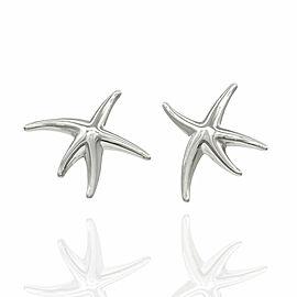 Tiffany Starfish Earrings in Silver