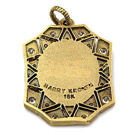 Barry Kronen Babylicious Octagon Charm in Gold