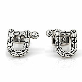 Hardy Horseshoe Cufflinks in Silver
