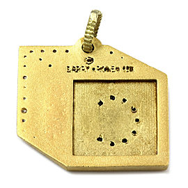 Barry Kronen Babylicious C Block Charm Pendant in Gold