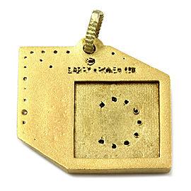 Barry Kronen Babylicious C Block Charm Pendant in Gold