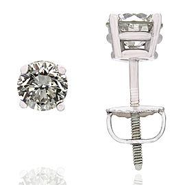 Diamond Studs Earrings in Gold
