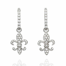 Diamond Earring Charms in Gold