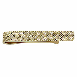 Tiffany Tie Bar in Gold