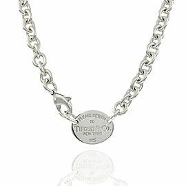 Tiffany Return to Tiffany Necklace in Silver