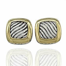 Yurman Albion EArrings in Silver and Gold