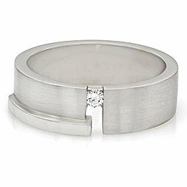 Gentlemans Diamond Solitaire Ring in Gold
