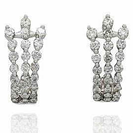 Diamond Spray Earrings in Gold