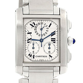 Cartier Tank Francaise Stainless Steel 2303