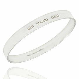 Tiffany & Co. 1837 Concave Bangle Bracelet SS