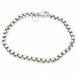 Tiffany Venetian Box Link Bracelet SS