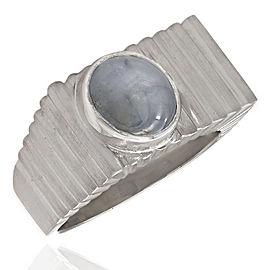 Gentlemans 14KW Star Sapphire Ring