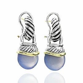 David Yurman Chalcedony Acorn Drop Earrings