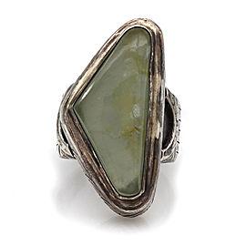 Designer Saville Solid Sterling Silver Quartz Statement Ring