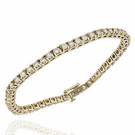 14KY Diamond Inline Bracelet