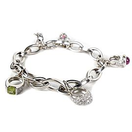 Gubelin - Bracelet with Ring Charms - White Gold