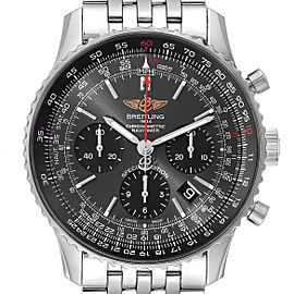 Breitling Navitimer 01 Grey Dial Limited Edition Mens Watch AB0121