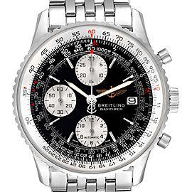 Breitling Navitimer II Black Dial Steel Mens Watch A13322