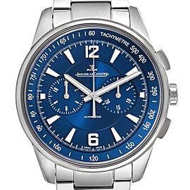 Jaeger Lecoultre Polaris Blue Dial Steel Mens Watch 842.8.C1.s Q9020180